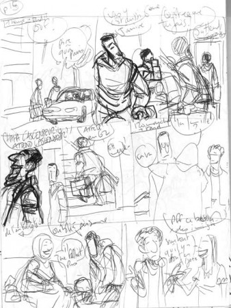 découpage page 15