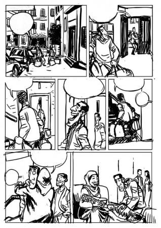 croquis page 15 de Oualou en Algérie